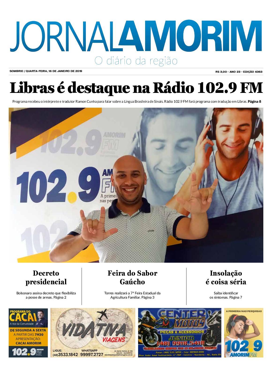 Jornal Amorim - 16 - 01 -19