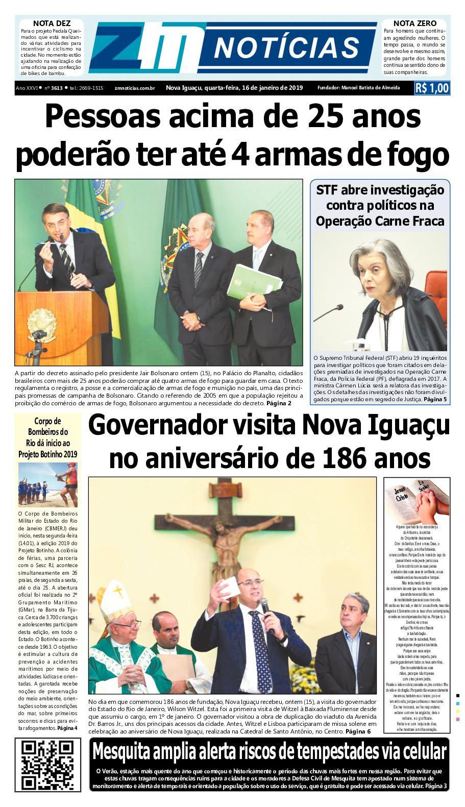 Zm Noticias Edição 160119