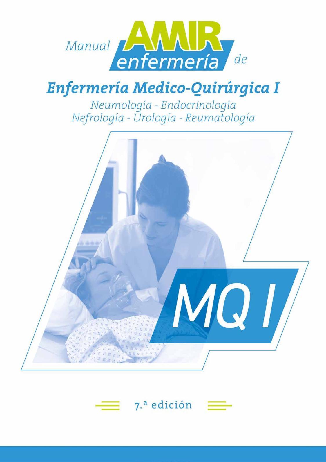Manual de Enfermería Medico Quirúrgica I
