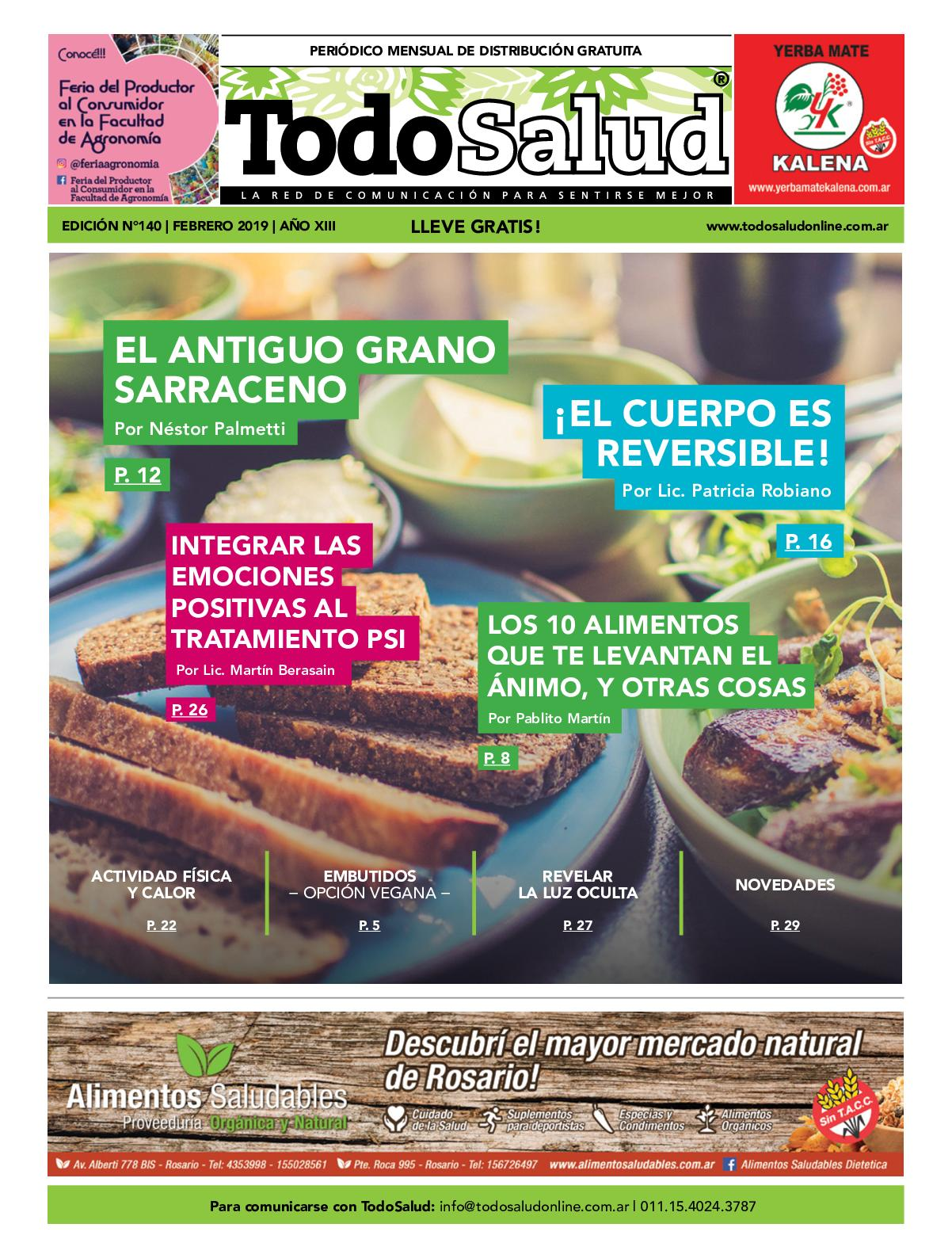 TodoSalud N°140 - Febrero 2019