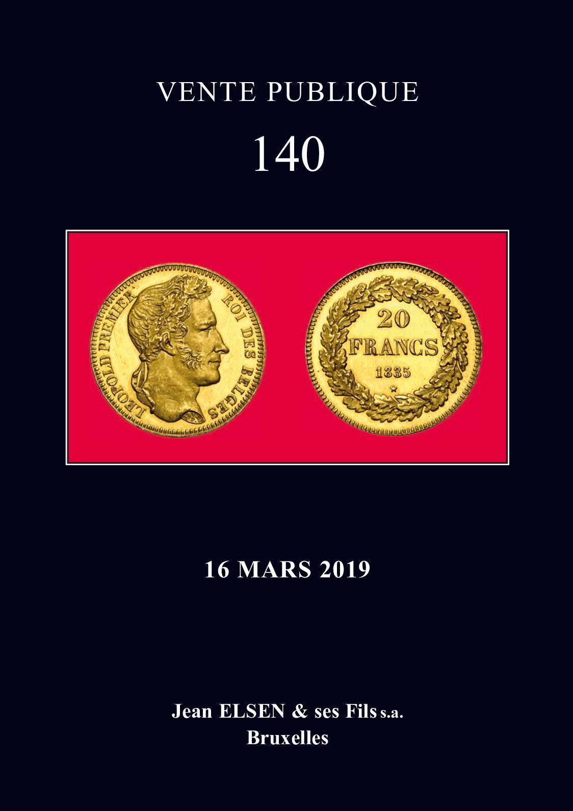 Jean Elsen et ses Fils s.a. : Vente publique 140 (version intégrale)