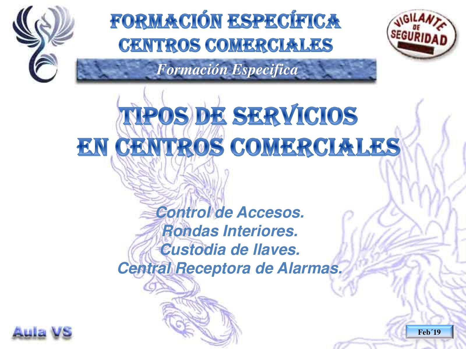 Cc18 Tipos De Servicios