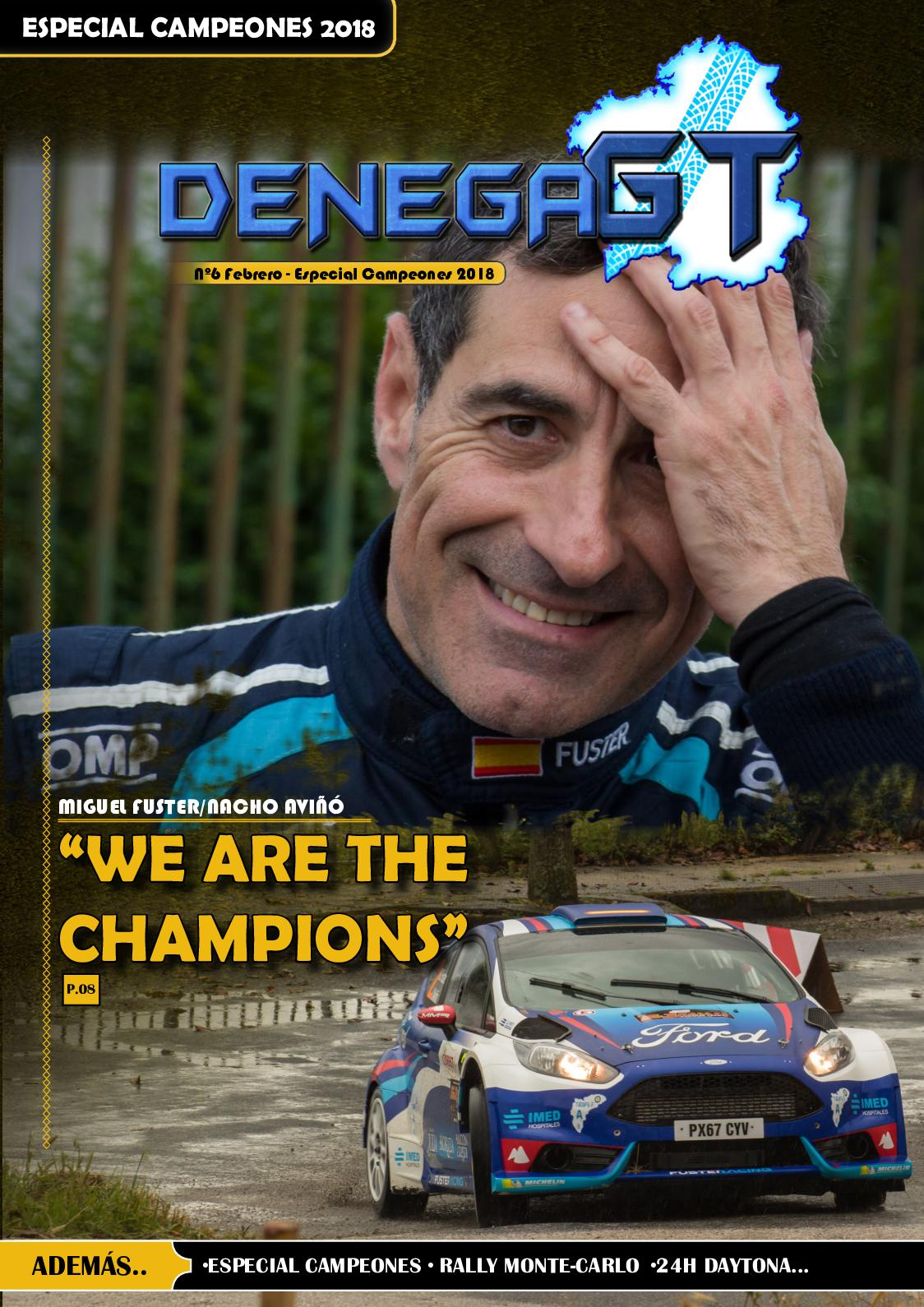 Revista Denega GT Núm.6: Especial Campeones