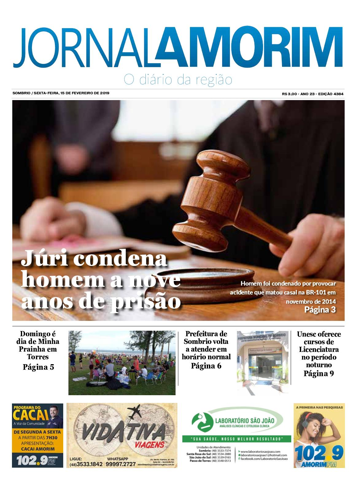 Jornal Amorim 15-02-2019