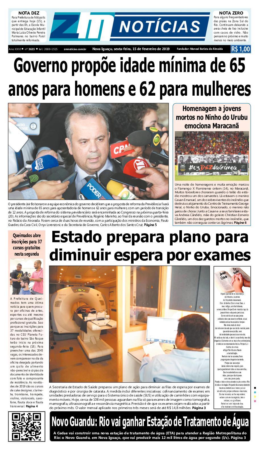 ZM Noticias - Edição 150219