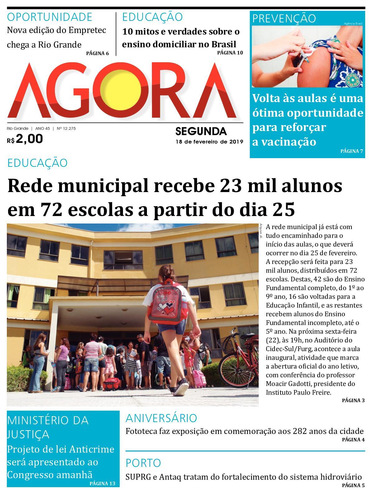 3ff8fbd5fb Calaméo - Jornal Agora - Edição 12275 - 18 de Fevereiro de 2019