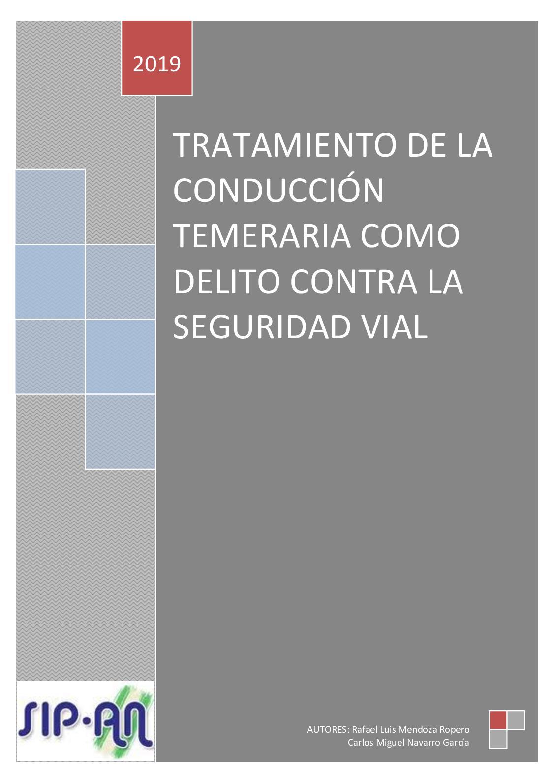 370 Tratamiento De La Conduccion Temeraria Como Delito Contra La Seguridad Vial