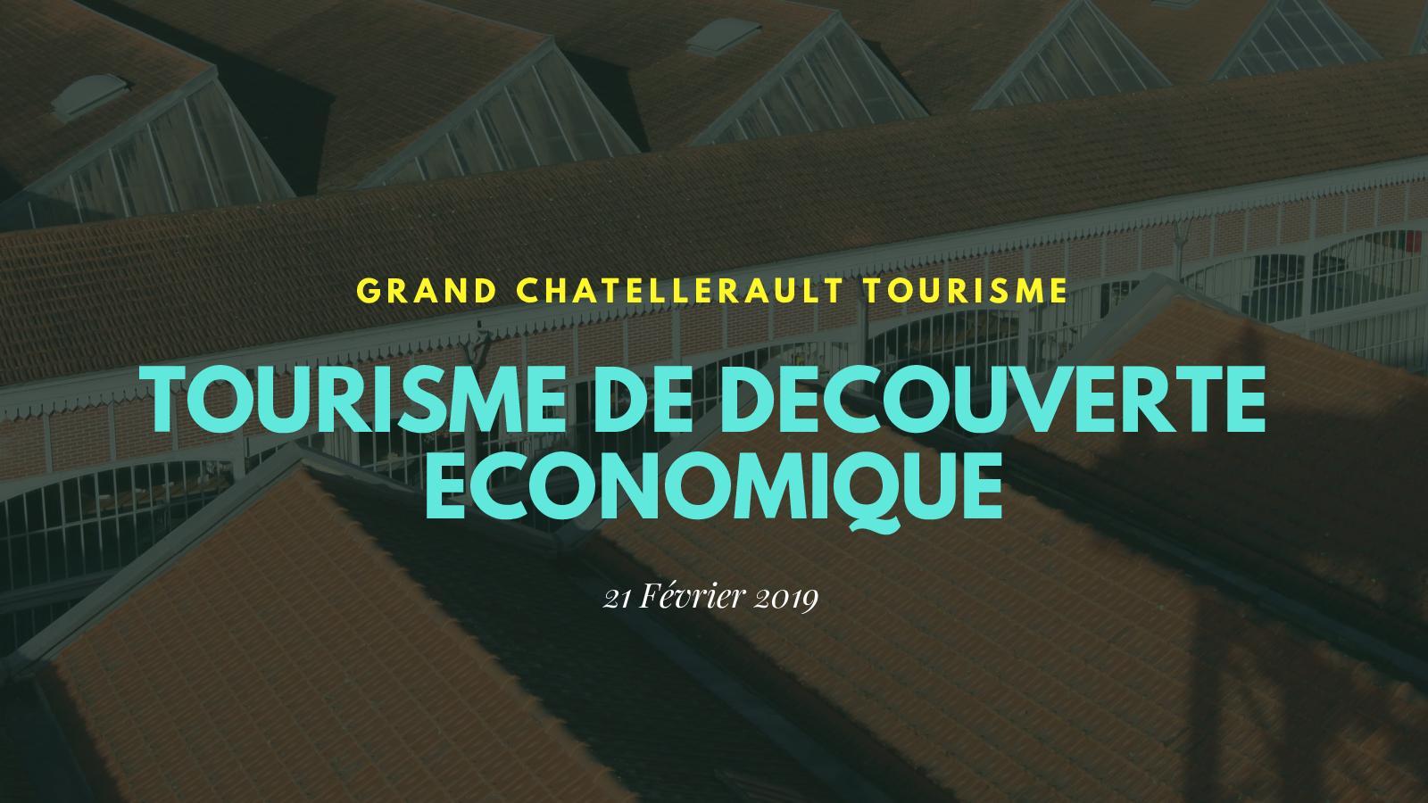 Séminaire Tourisme De Découverte ÉConomique