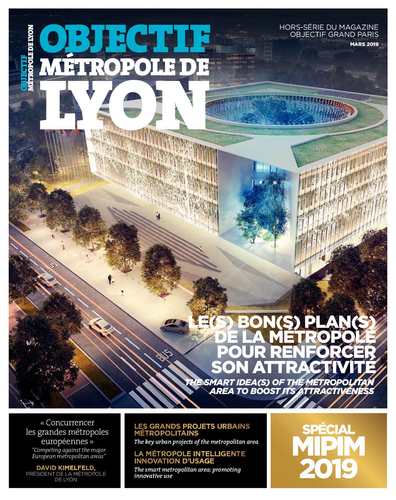 OBJECTIF METROPOLE DE LYON 2019