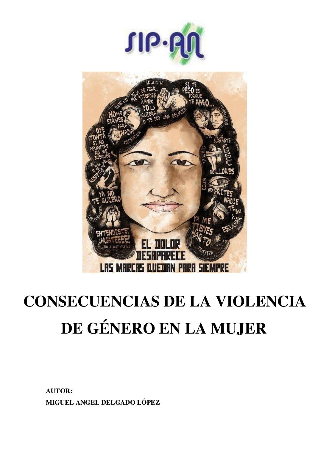 385 Consecuencias De La Violencia De Genero En La Mujer
