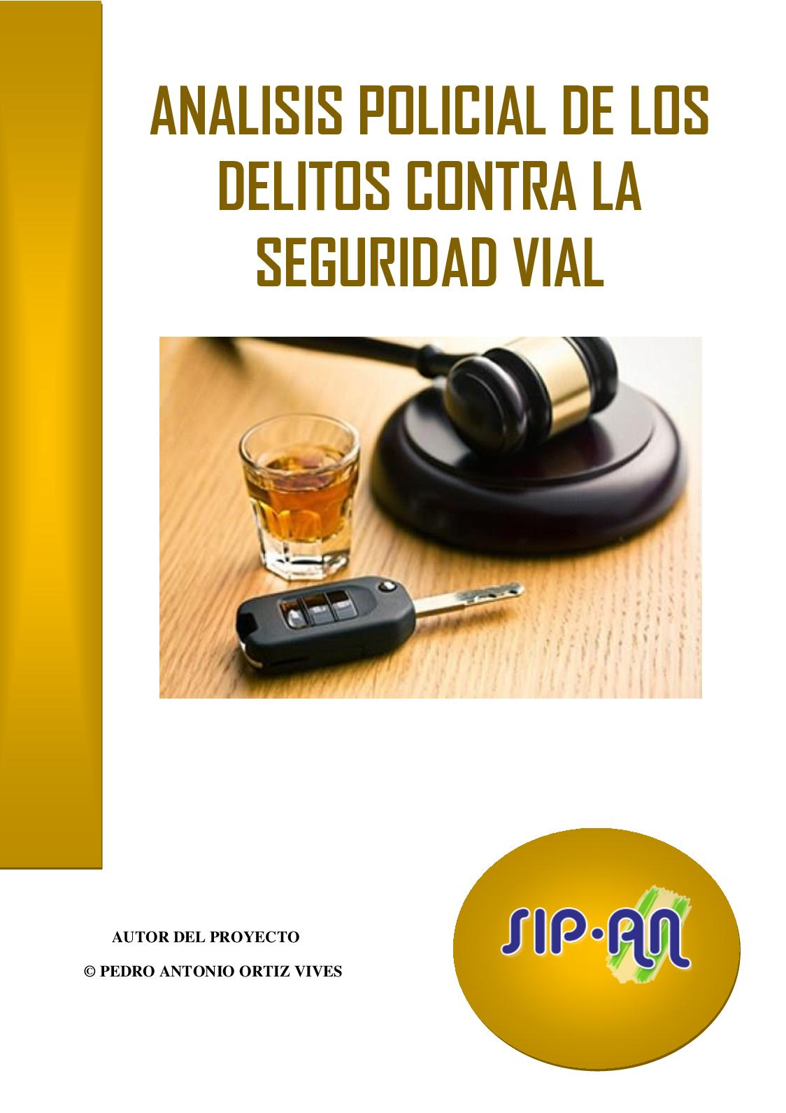 397 Analisis Policial Delitos Contra La Seguridad Vial