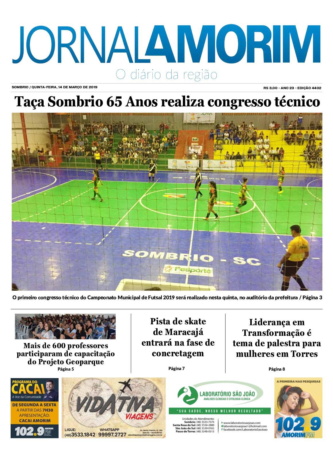 Jornal Amorim 14-03-19