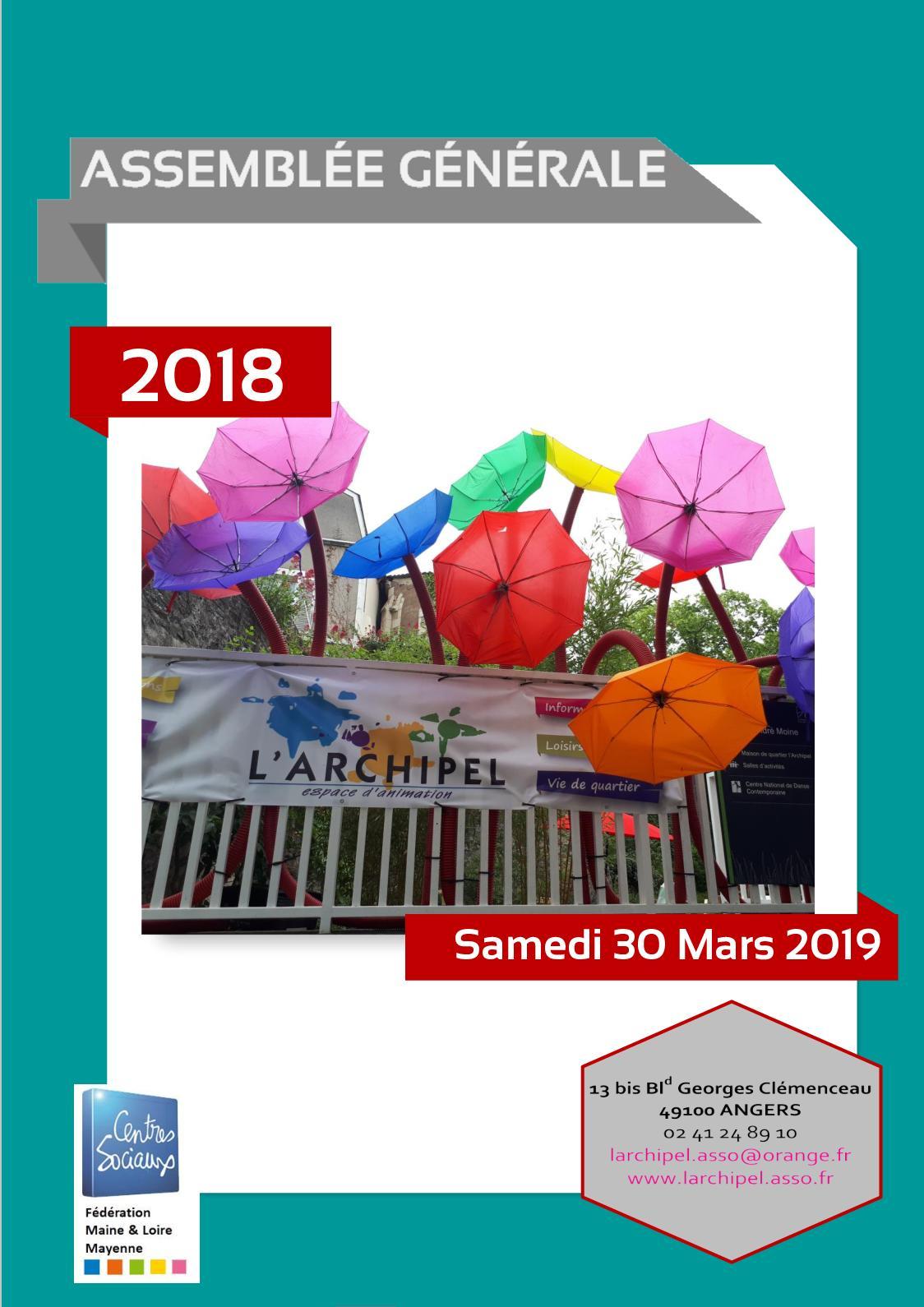L'archipel Ag 30 Mars 2019