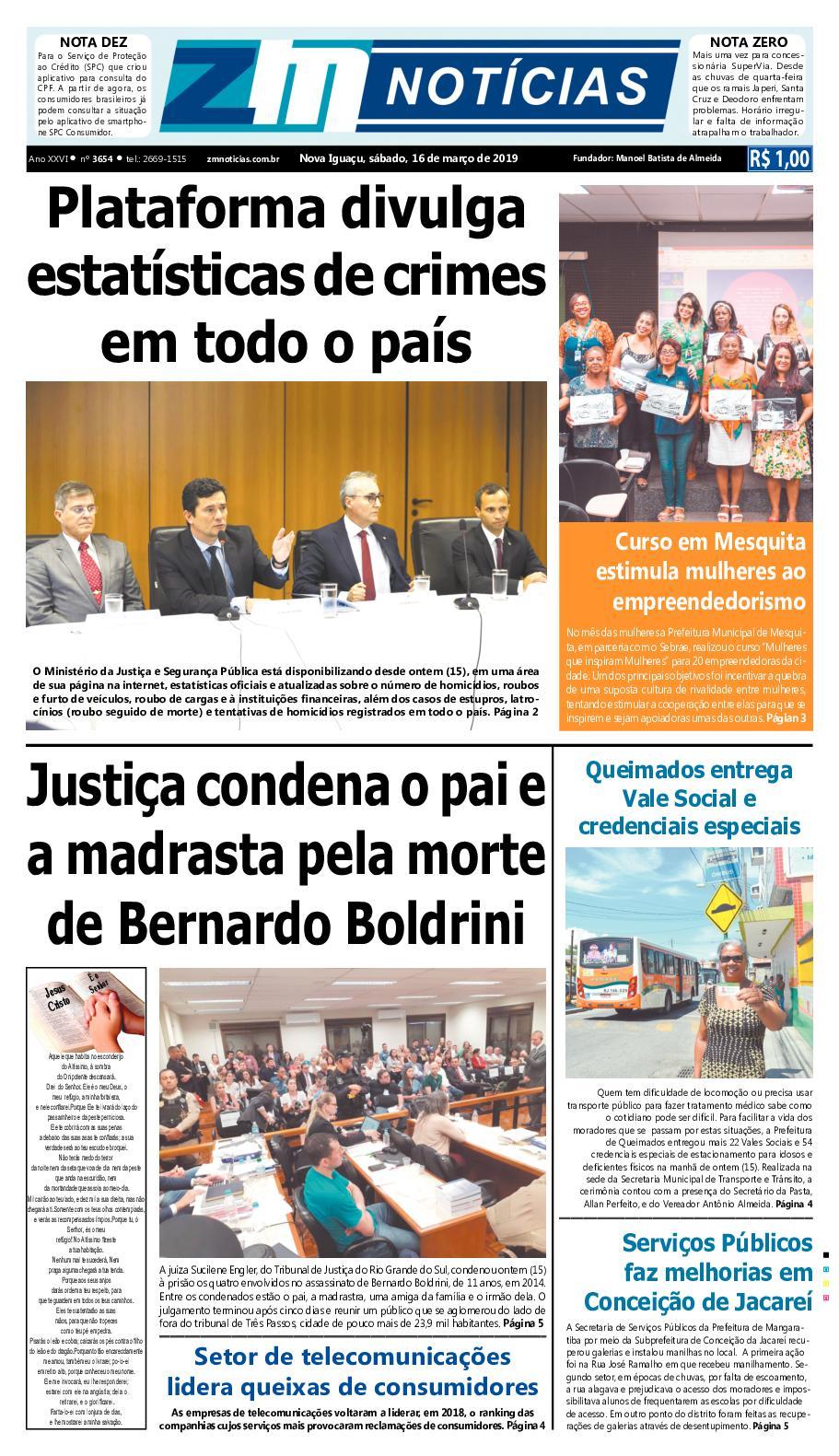 Zm Noticias Edição 160319