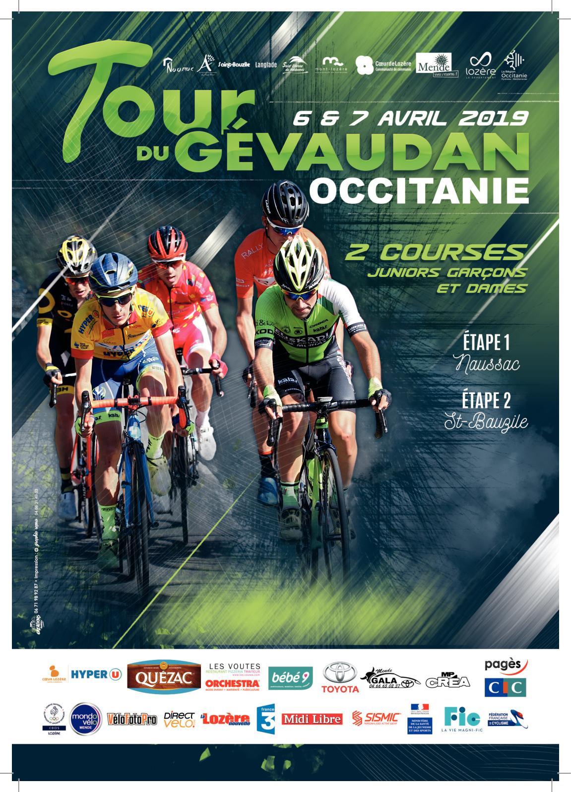 TOUR CYCLISTE GEVAUDAN OCCITANIE 2019