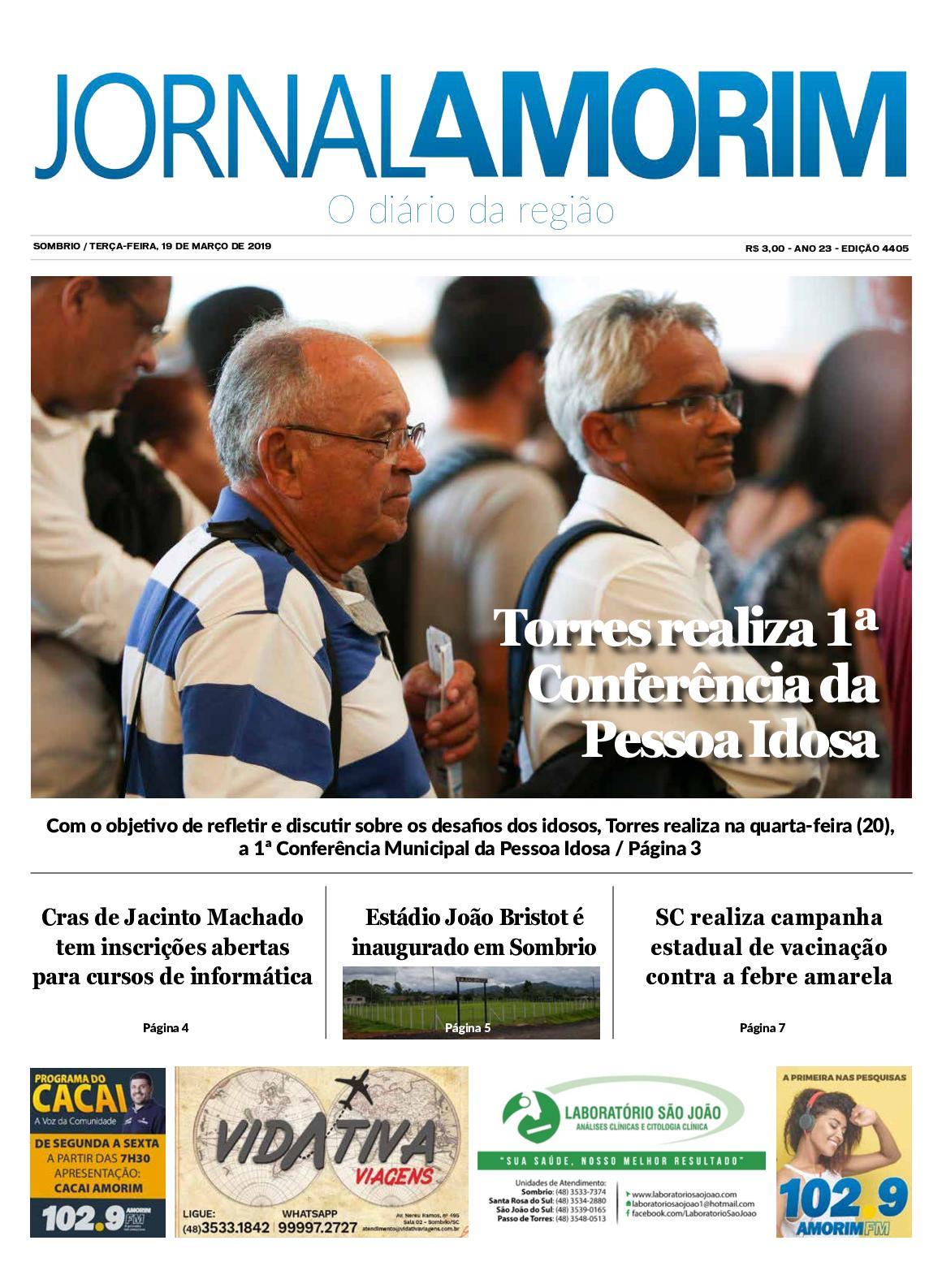 Jornal Amorim 19-03-2019