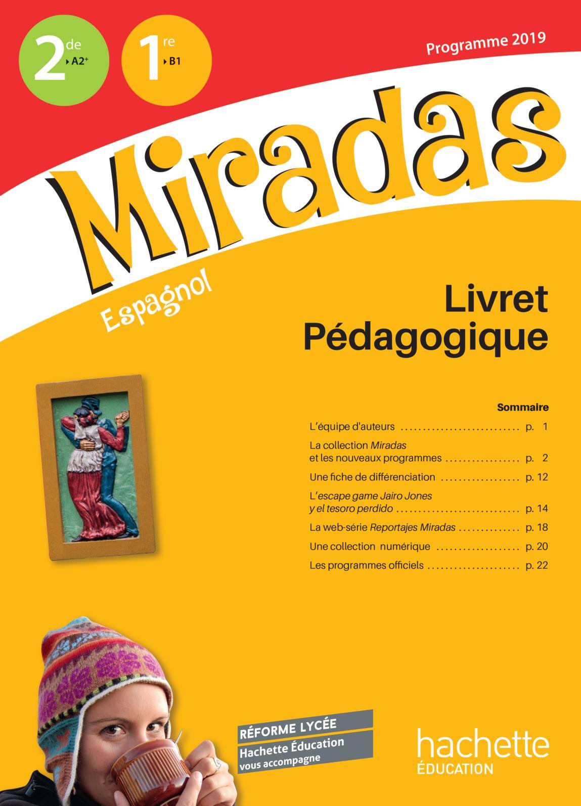 Complément pédagogique - Miradas 2019