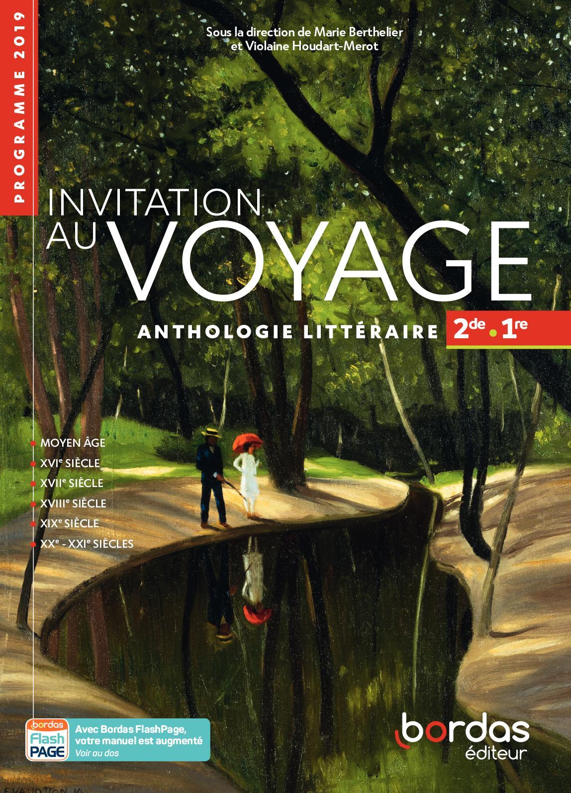 Français Anthologie 2de/1re