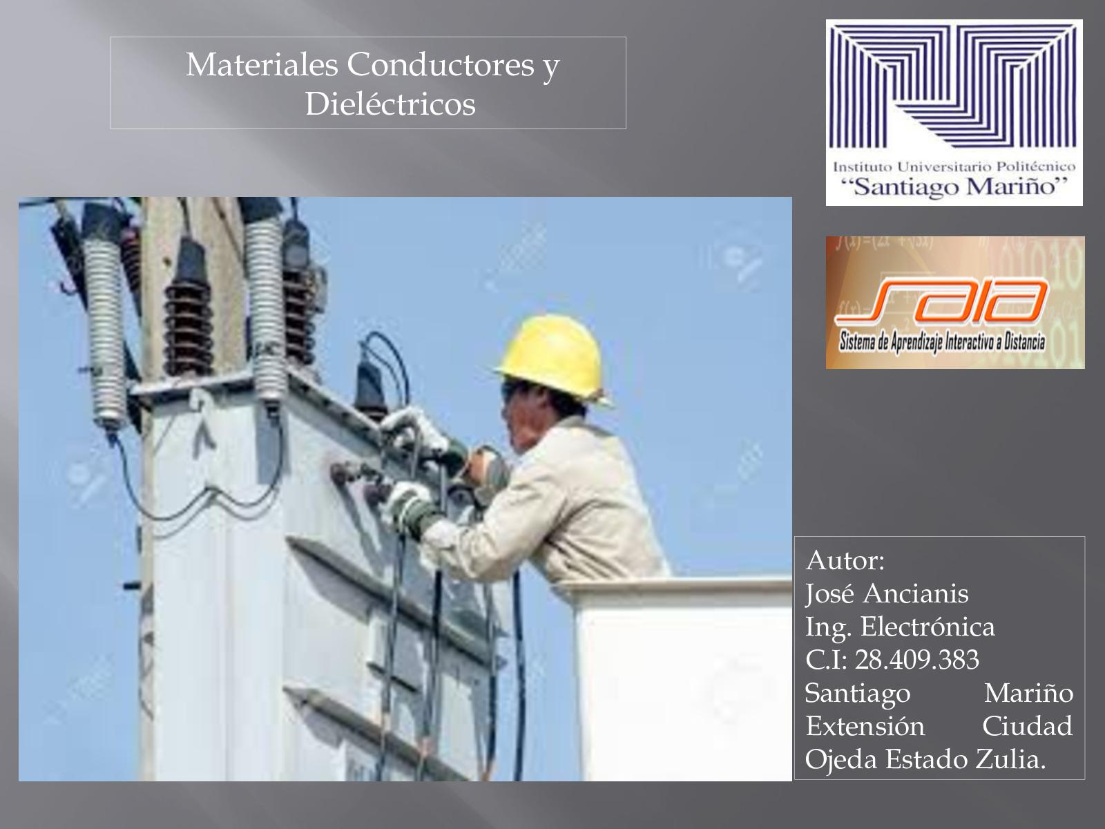 Revista Educativa Materiales Conductores Y Dieléctricos