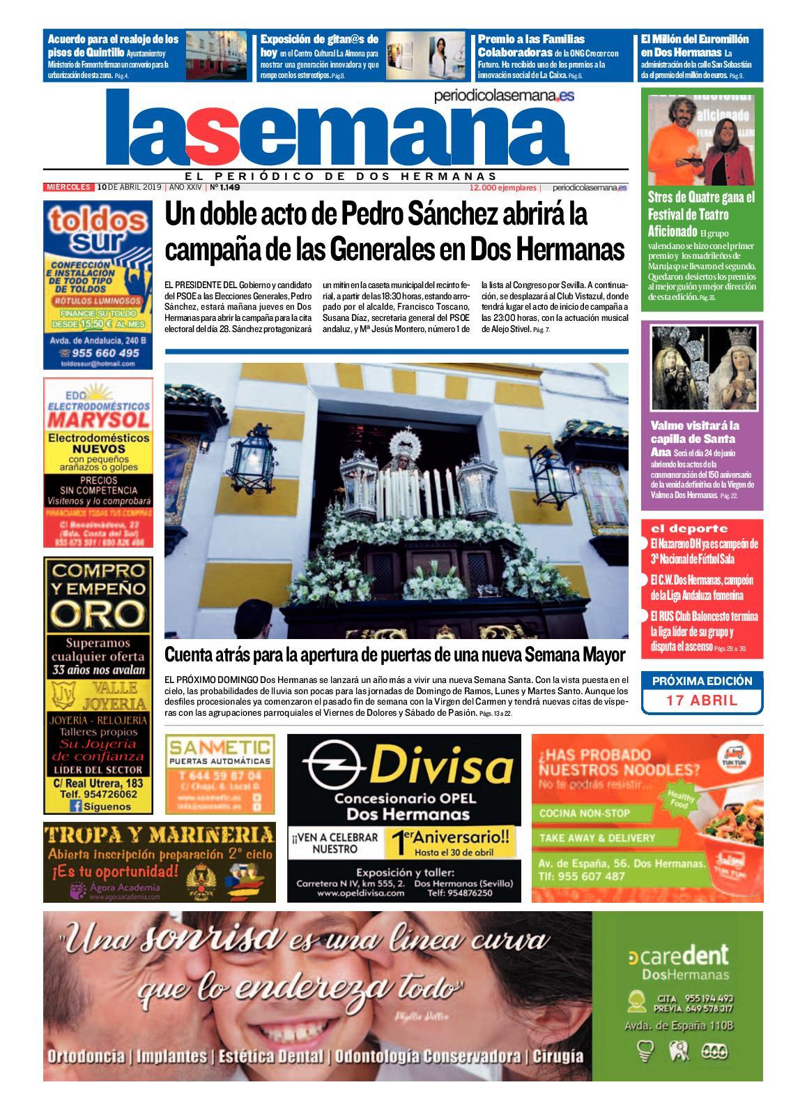 Periódico La Semana 1149