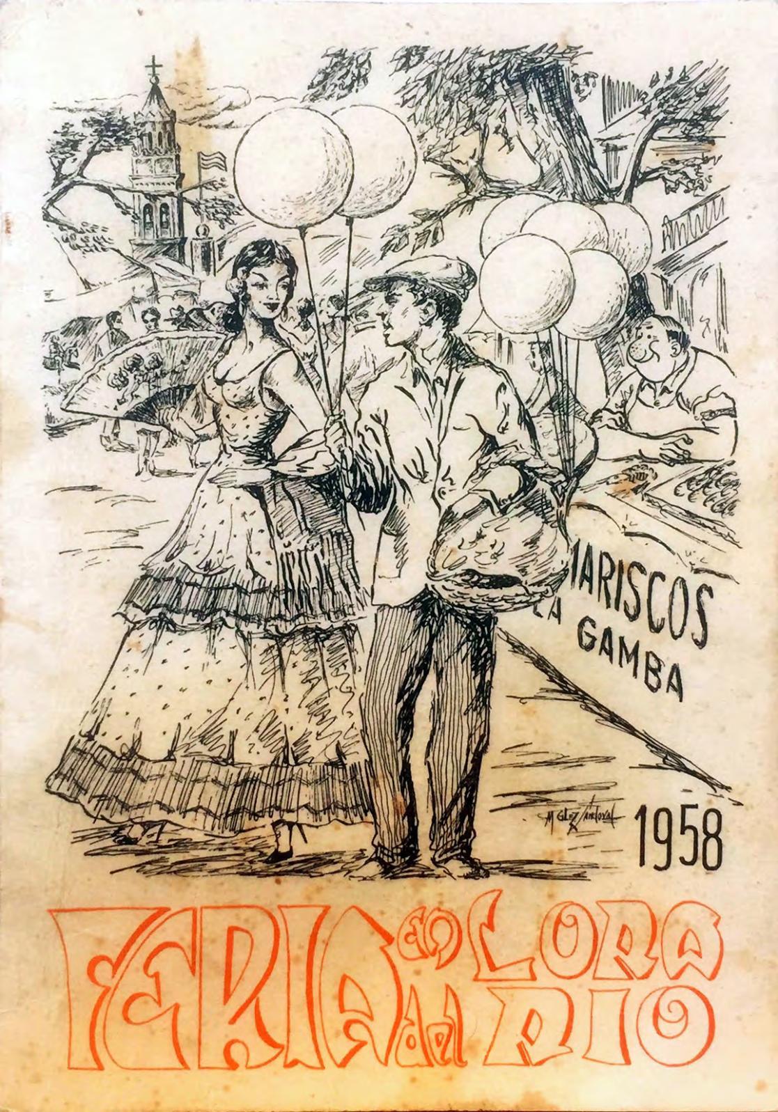 Revista De Feria Lora Del Rio 1958