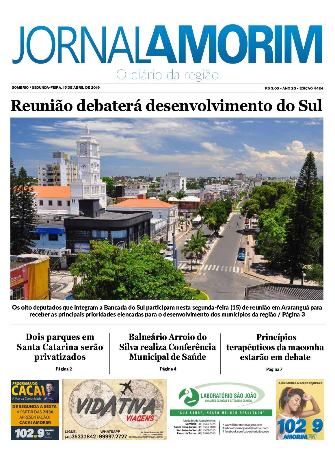 Jornal Amorim 15-04-19