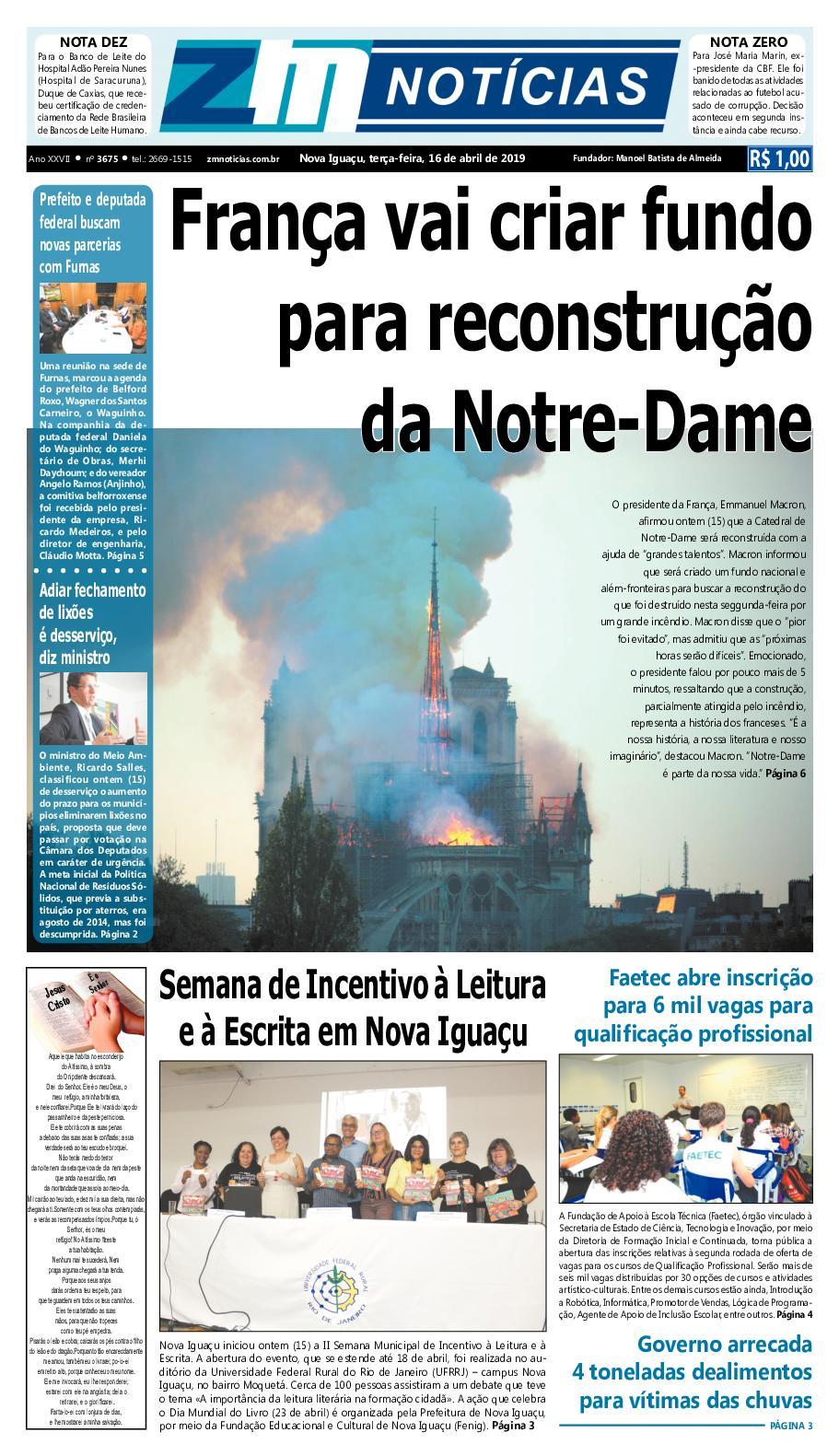 Zm Noticias Edição 160419