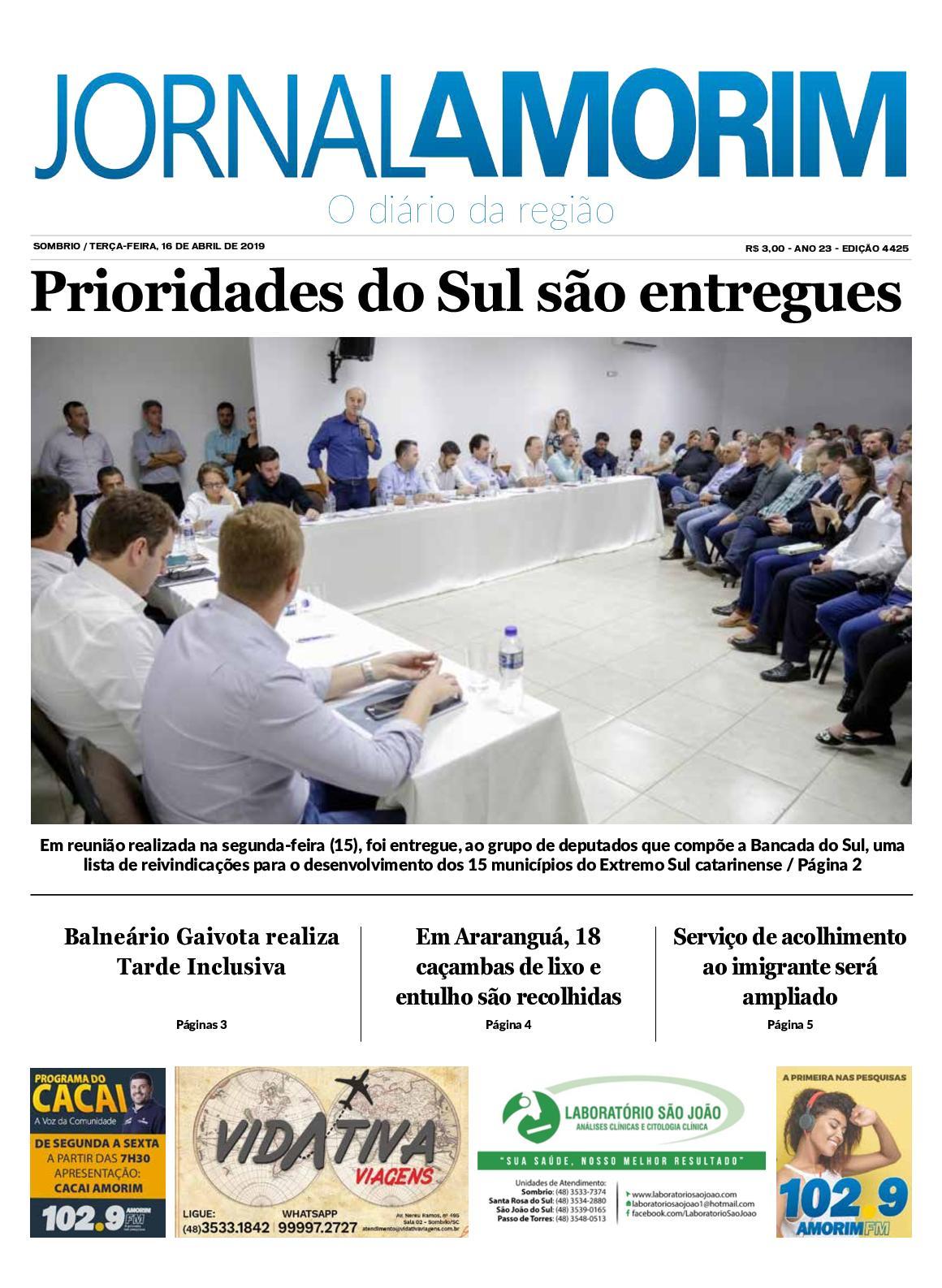 Jornal Amorim 16-04-19