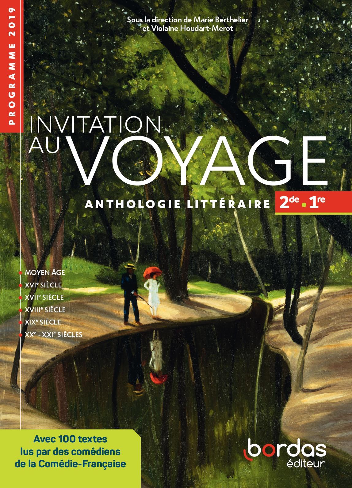 Invitation au voyage 2de/1re