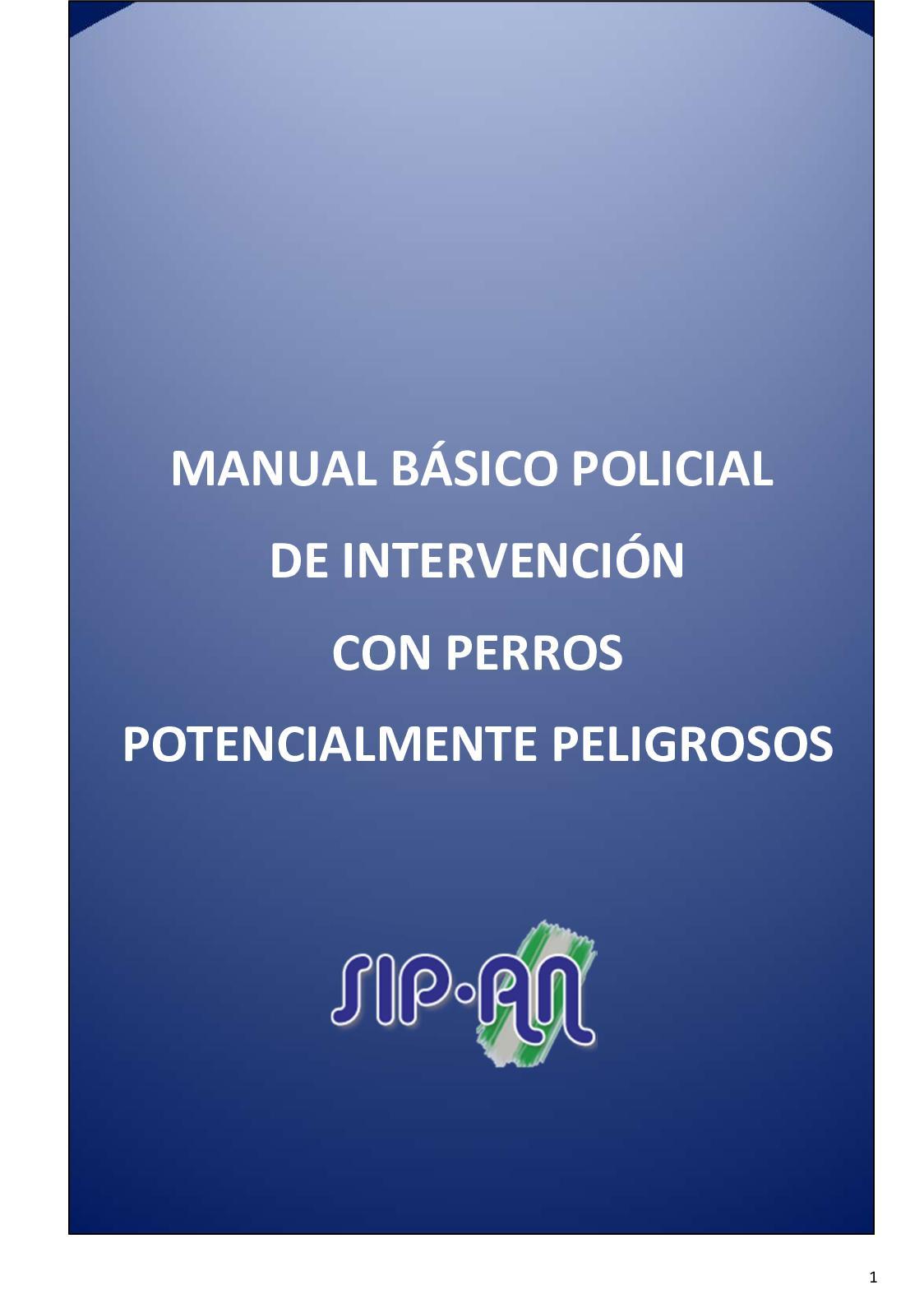487 Manual Básico Policial De Intervención Con Ppp