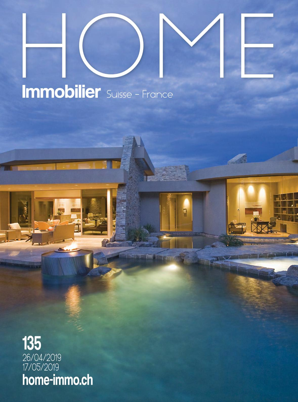 Magazine Home Immobilier n°135 france annecy geneve suisse