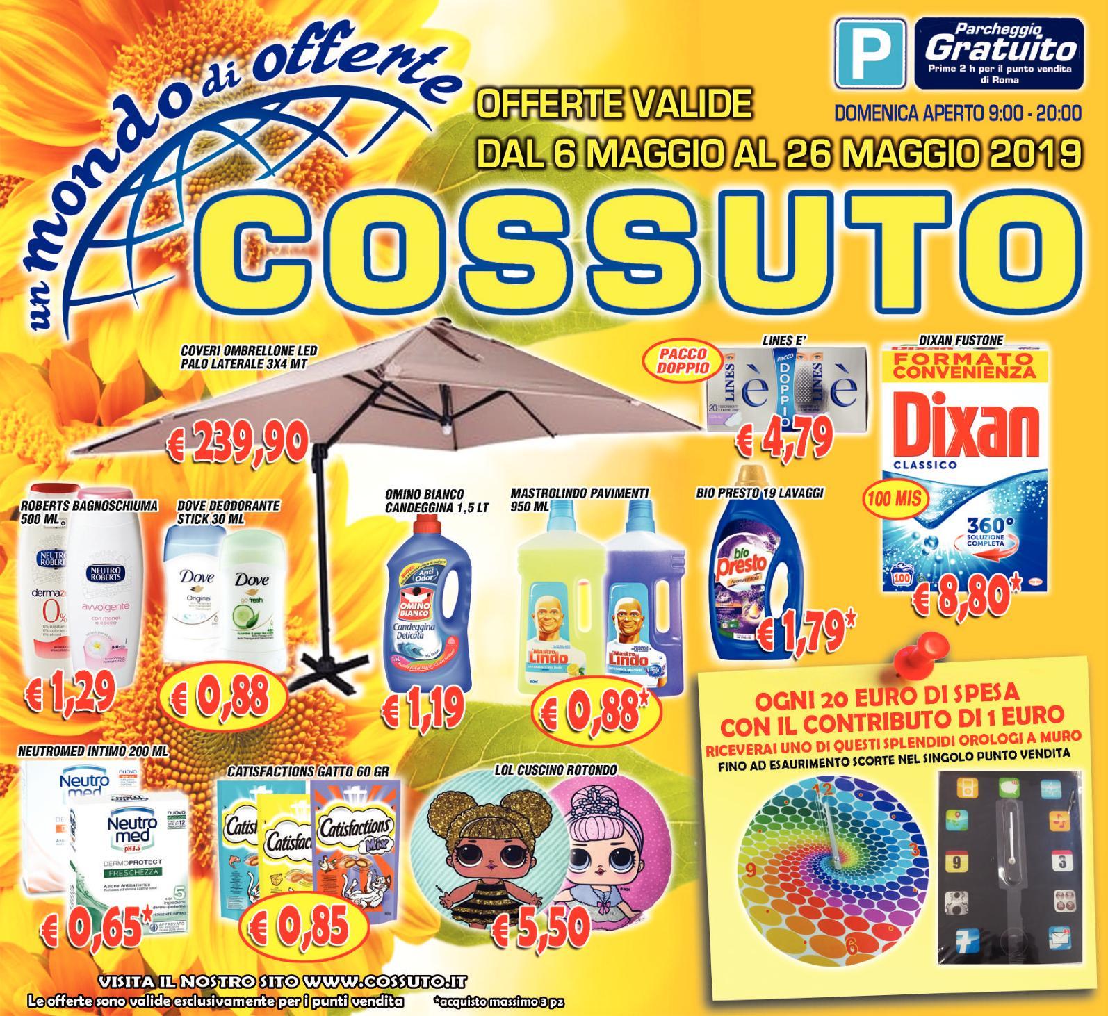 Volantino Cossuto 6 Maggio Pdf