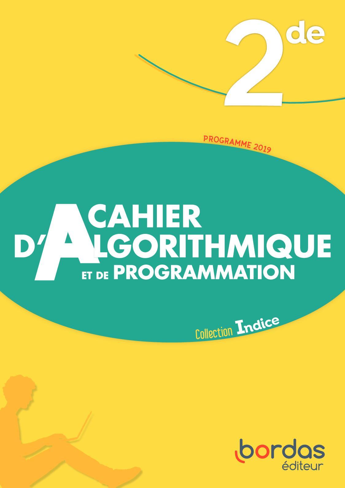Cahier Algorithmique 2de