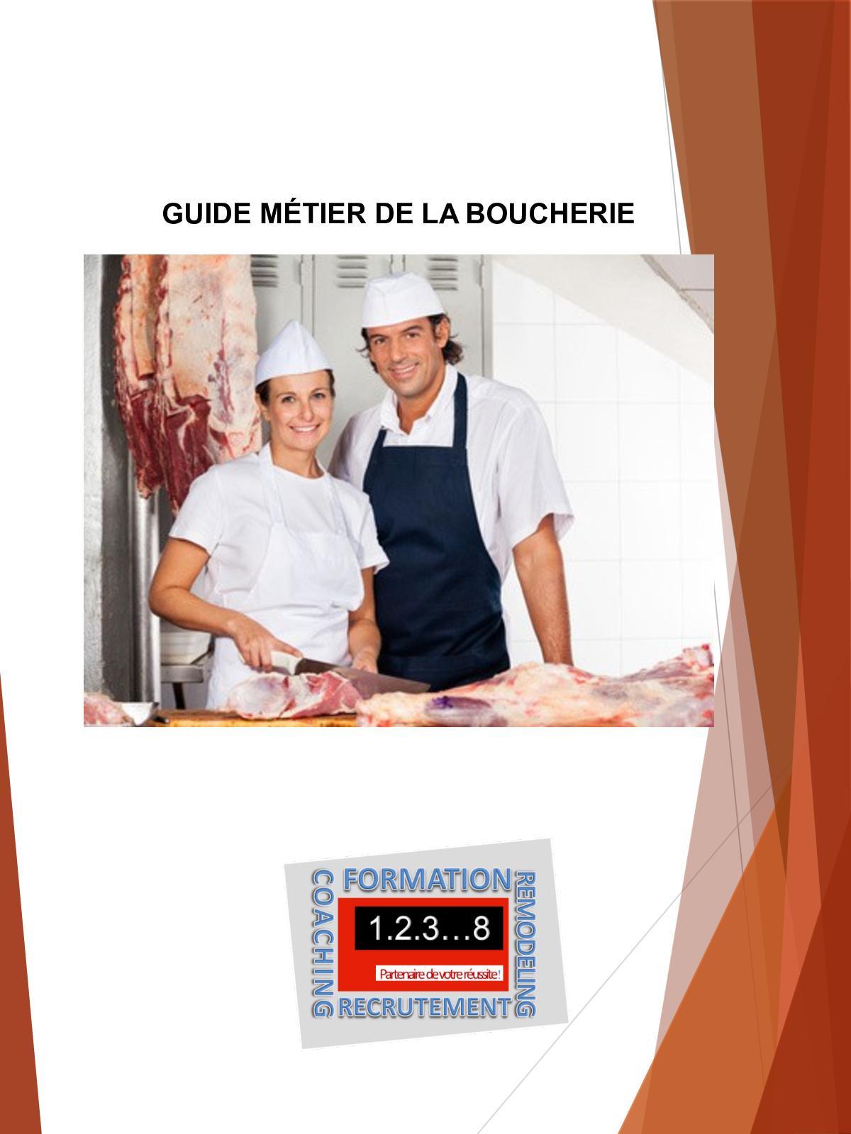 Guide métier  Boucherie