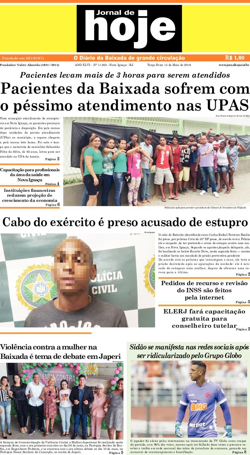 Jornal De Hoje 140519