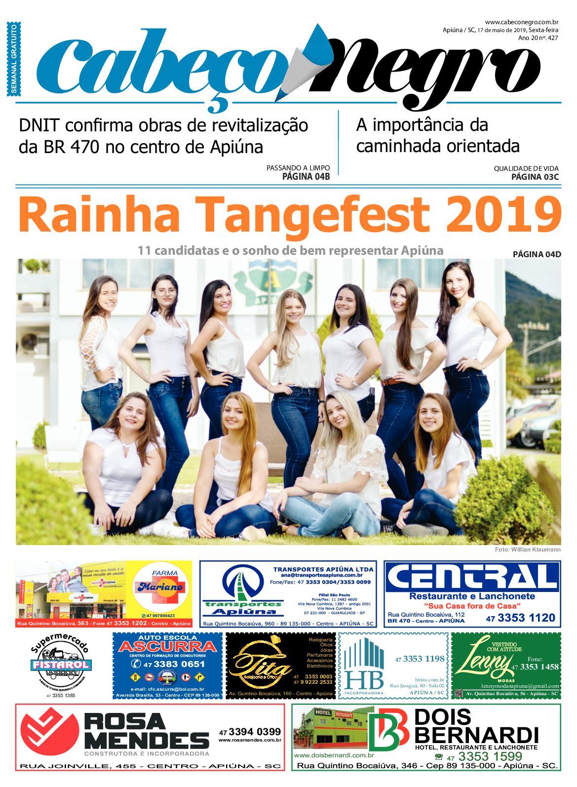 EDIÇÃO 427 - 17MAI2019
