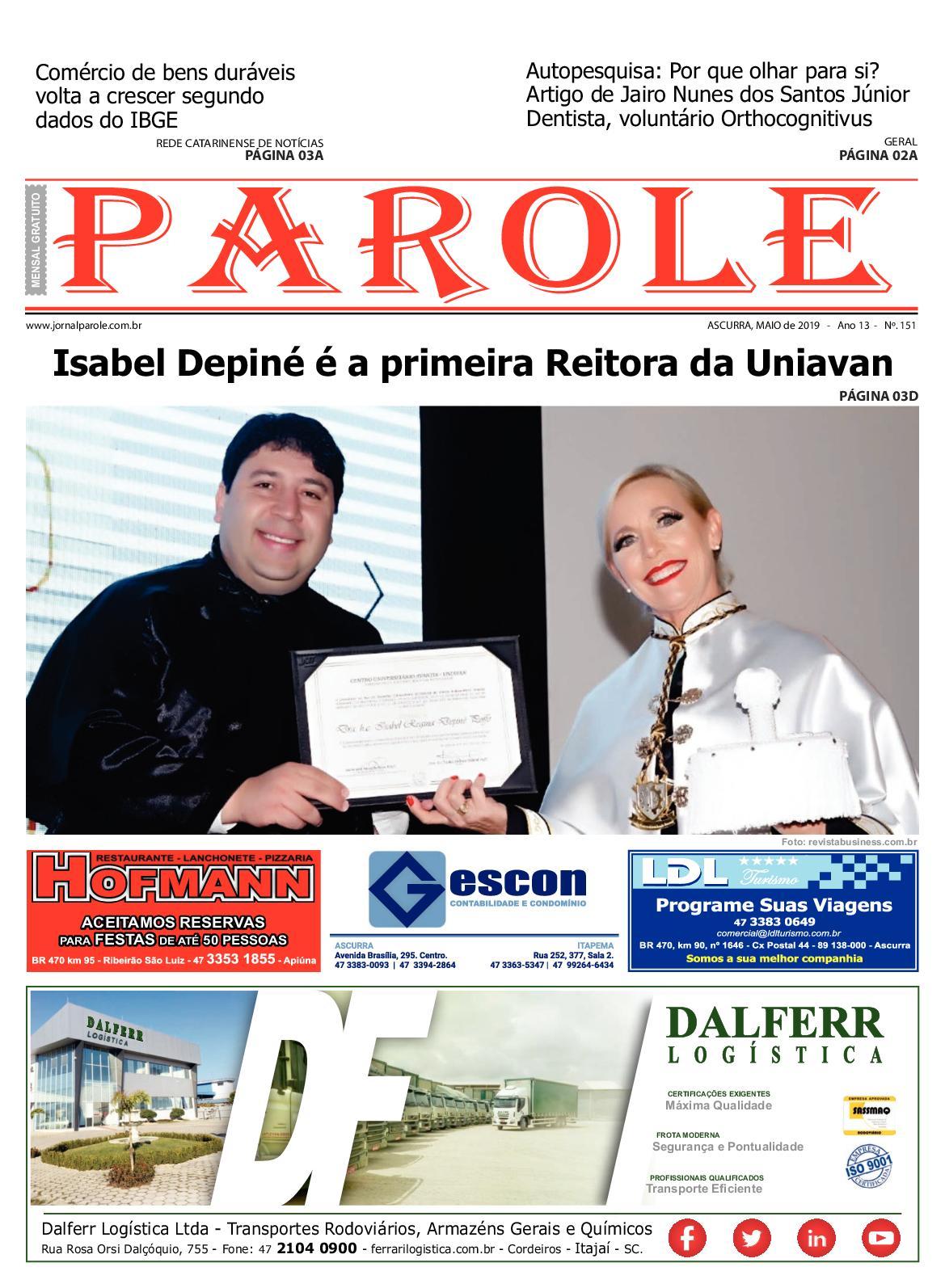 EDIÇÃO 151 - MAIO2019