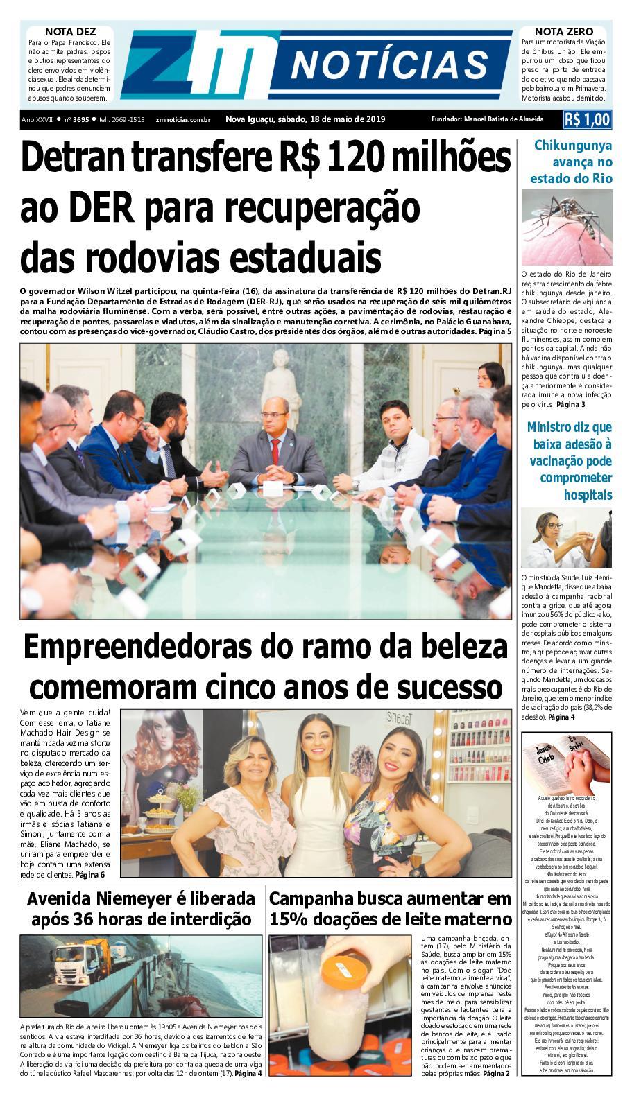 Z M Noticias Edicao 180519
