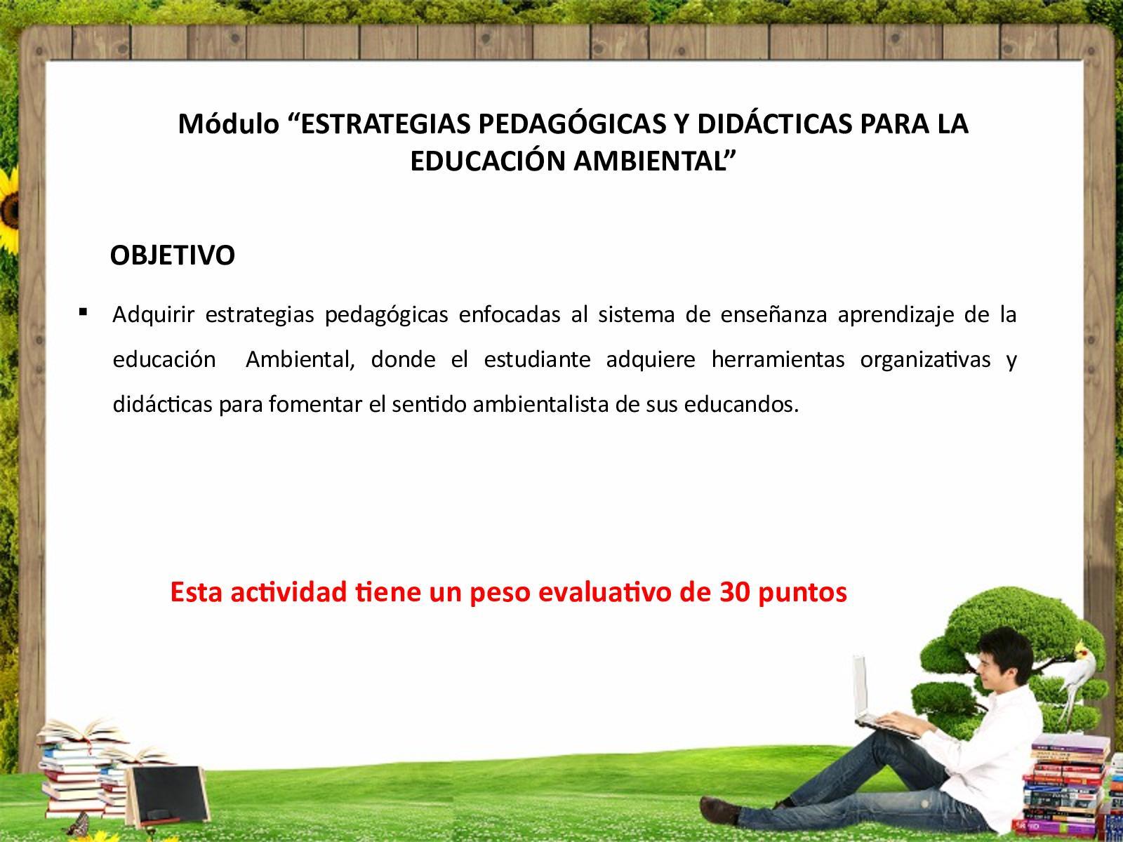 Estrategias Pedagogicas Y Didacticas Para La Educación Ambiental