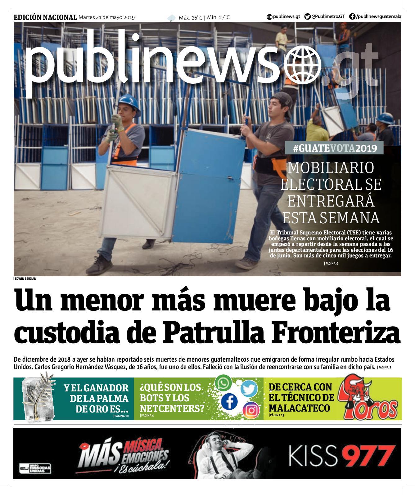 GUATEMALA CITY 21052019
