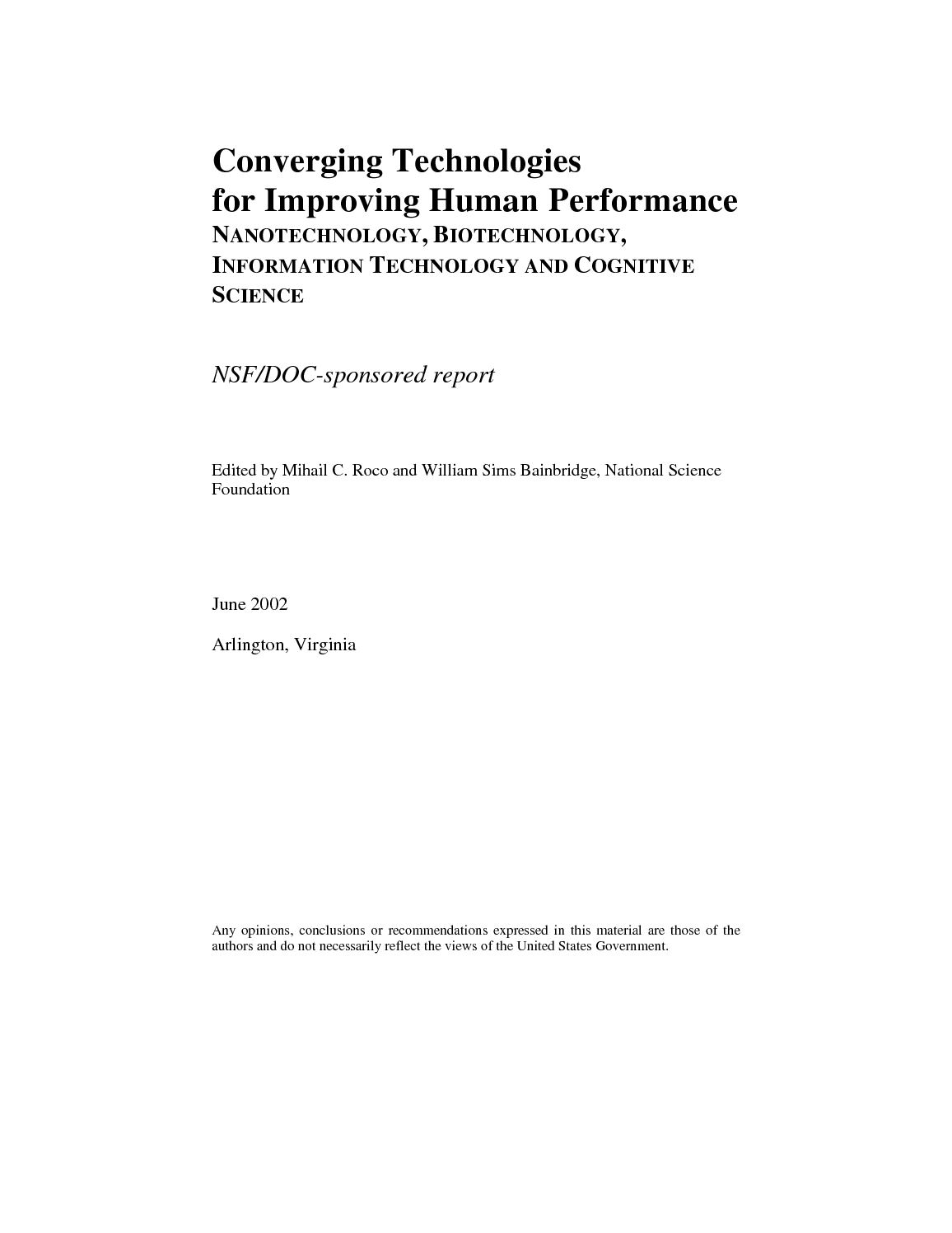 Calamo Converging Technologies For Improving Human Performance Ibanez At100 Wiring Diagram