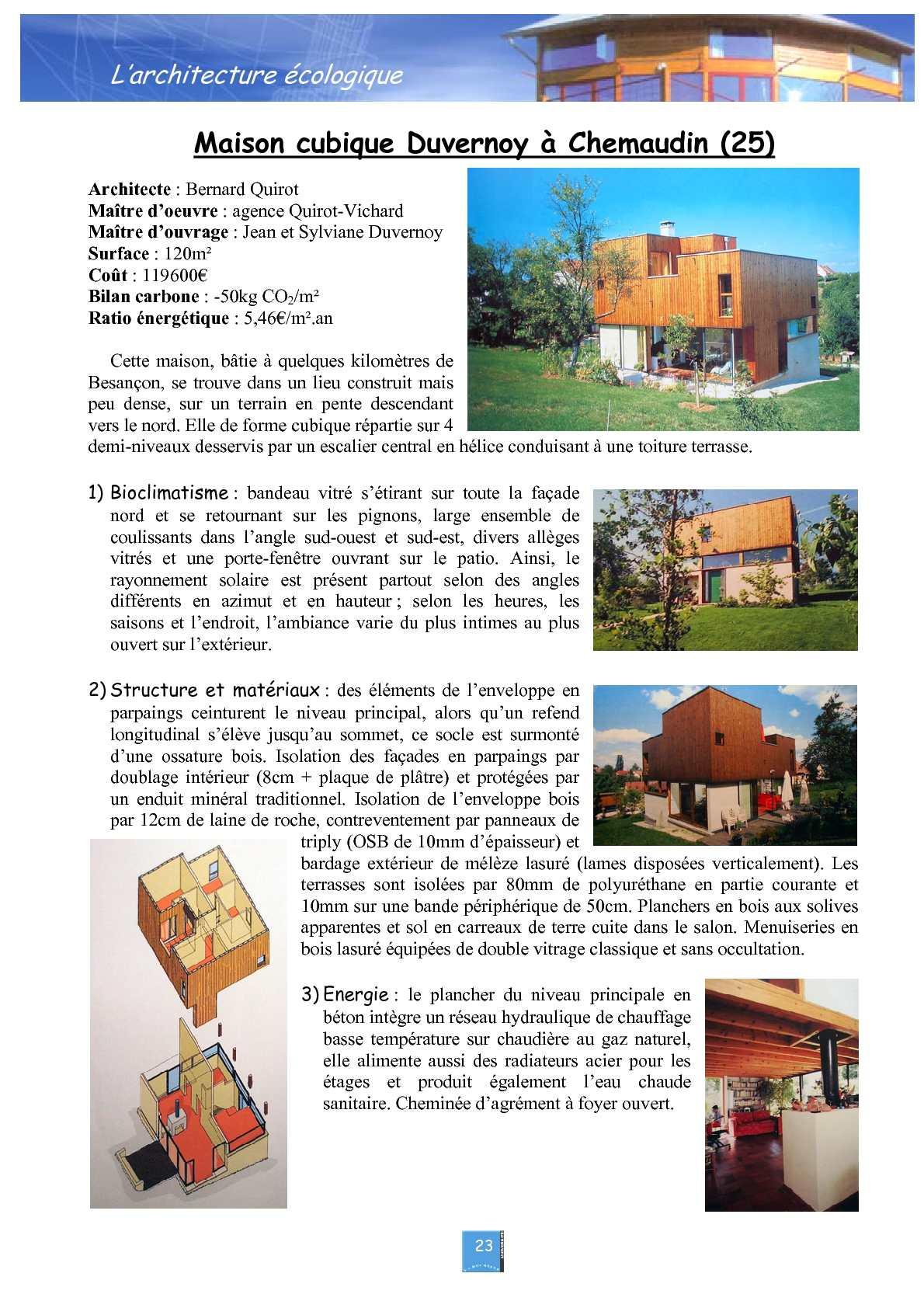 Coût Plancher Chauffant Hydraulique architecture écologique - calameo downloader
