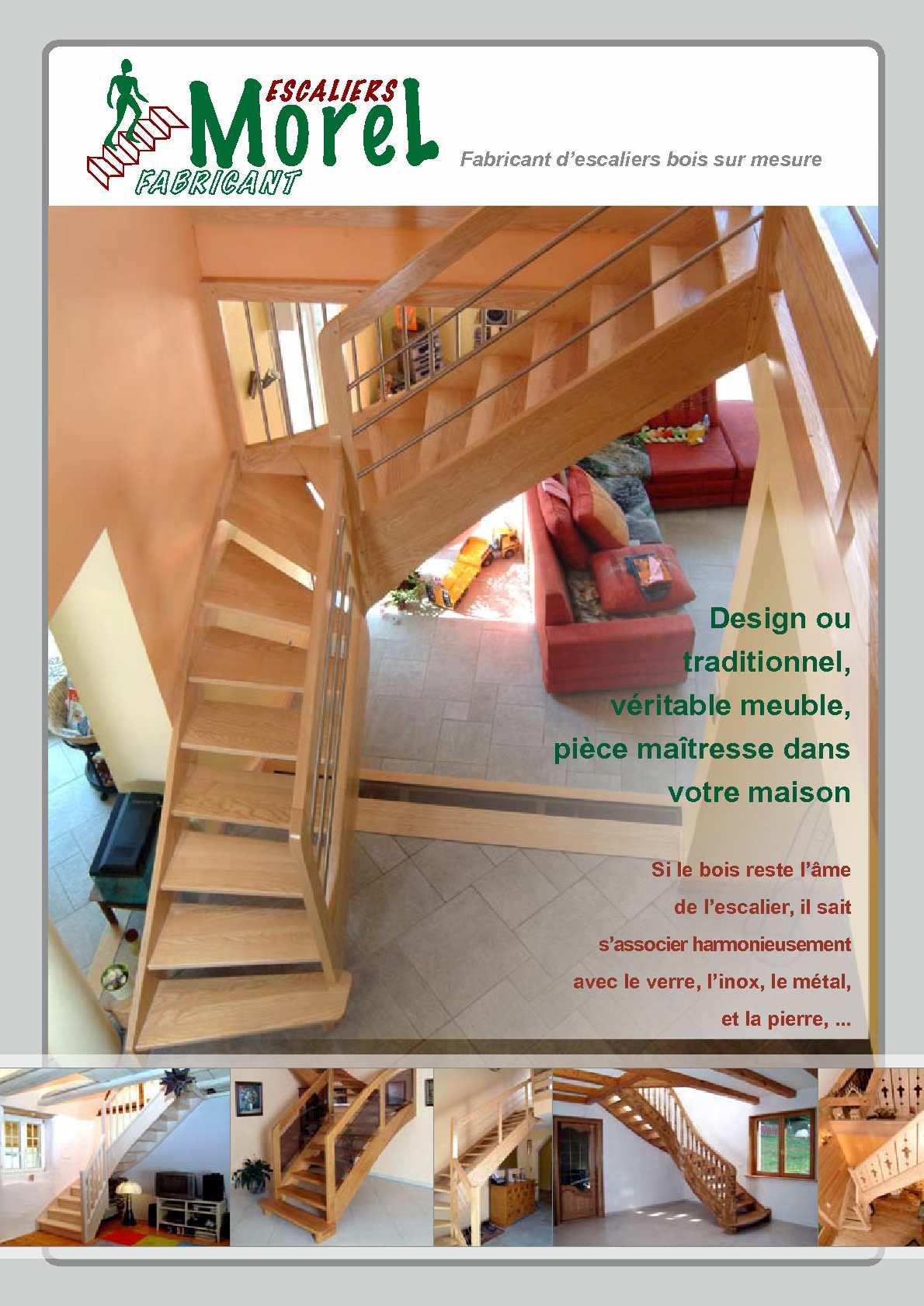 Calameo Escaliers Morel La Bresse Vosges