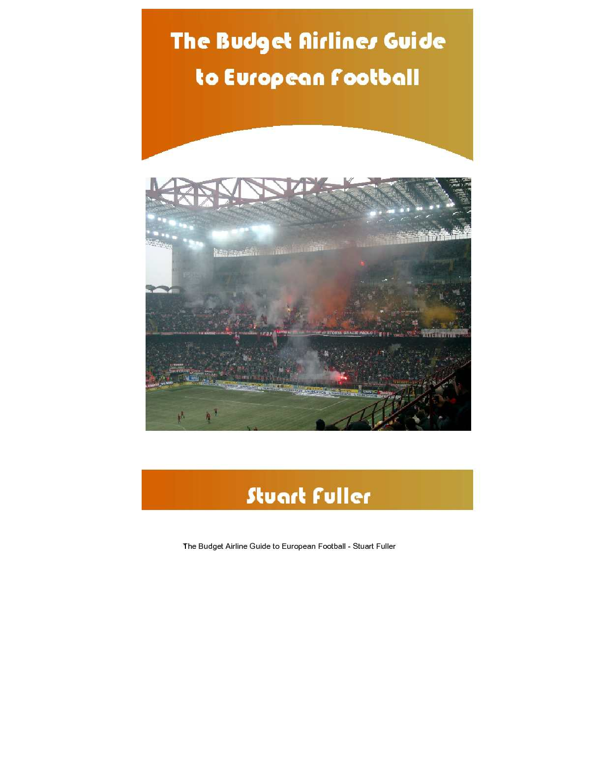 1174ad9bd0d Calaméo - Budget Airline Football - A Fans Guide