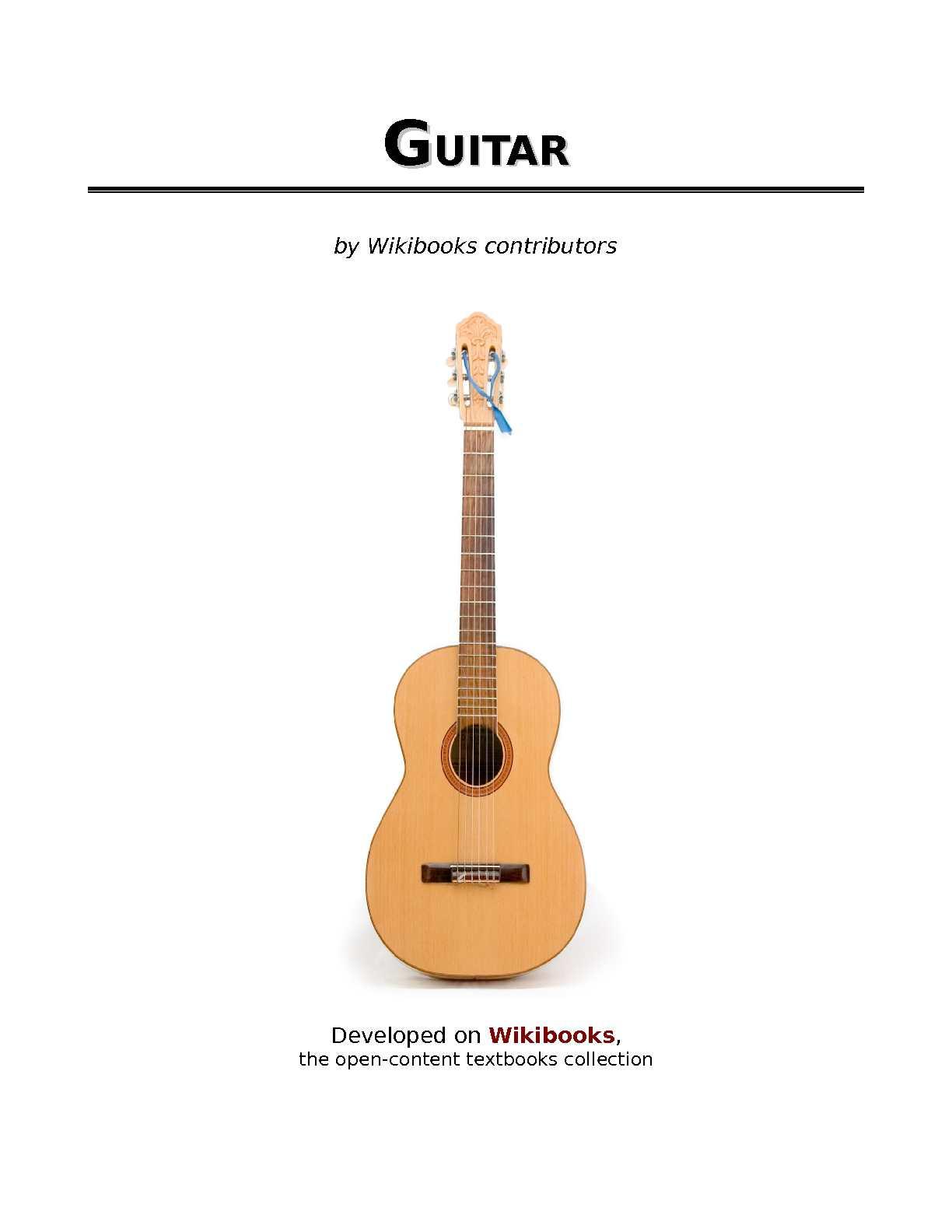 Calaméo Guitar Wikibook