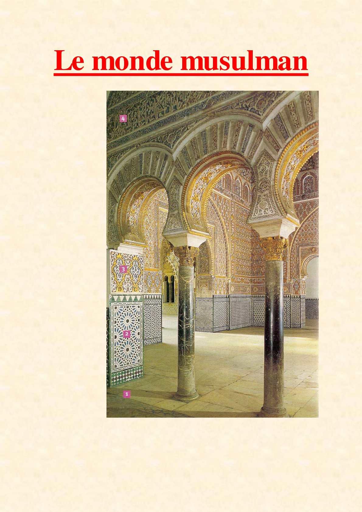 Calaméo - 5ème - Le monde musulman - cours intégral