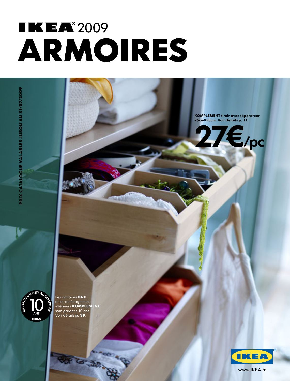 Ikea Tiroir Armoire Pax calaméo - ikea 2009 - armoires [fr]