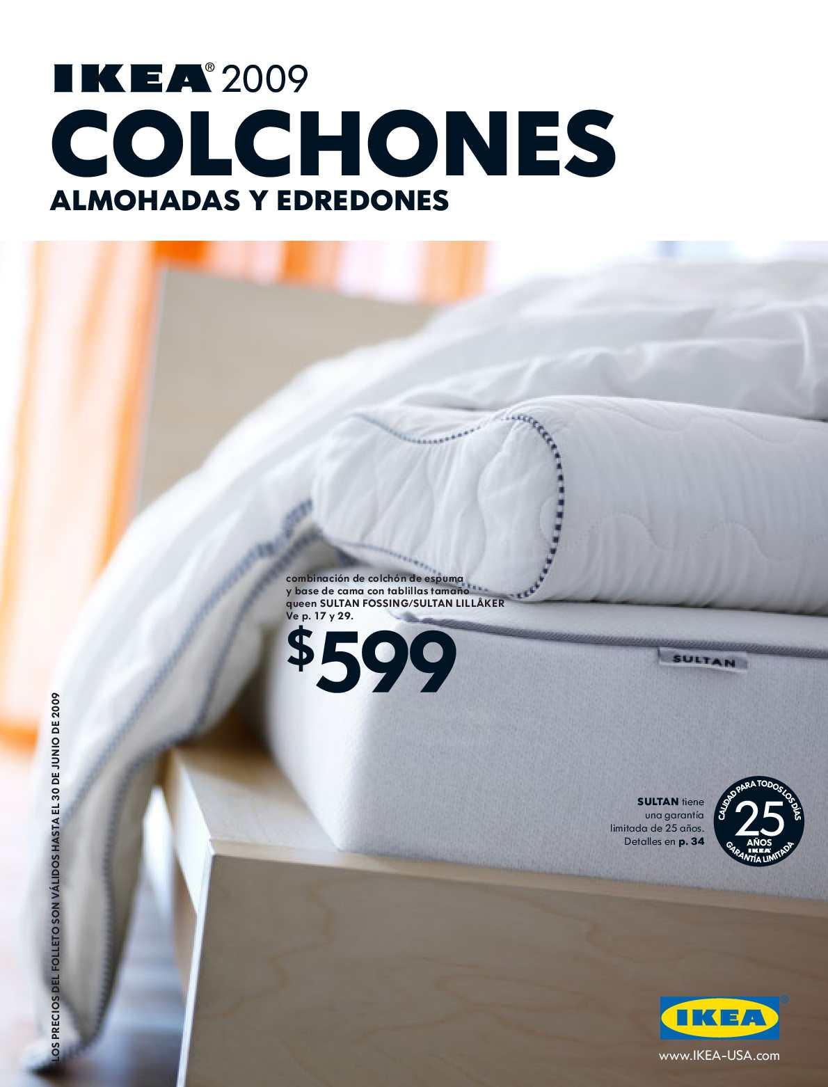 Calameo Ikea 2009 Colchones Es