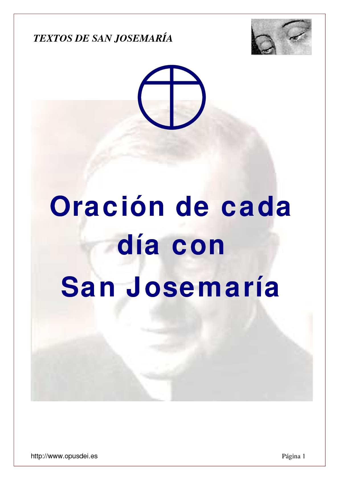 ddbee6f6c9348 Calaméo - Oración de San Josemaría para cada día