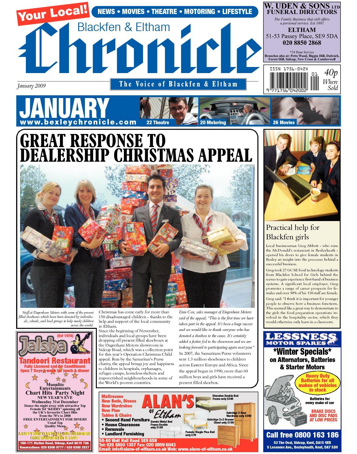 Calaméo - The Blackfen & Eltham Chronicle - January 2009